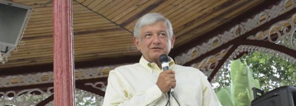 Aclara AMLO que avala a los candidatos de MORENA, no a los del PRD