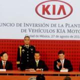 Empresa de vehículos Kia Motors anuncia inversión en México