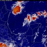 Potencial de lluvias muy fuertes a intensas y tormentas en Tamaulipas y Chiapas