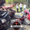 Chocan de frente camioneta y automóvil en Coscomatepec