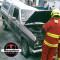 Roban llantas a camionetas de exhibición en Boca del Río