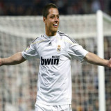 """""""Chicharito"""" Hernández anota dos goles con Real Madrid"""