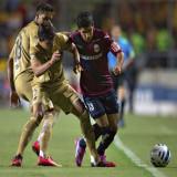 Pumas le pegó a Monarcas en El Estadio Morelos