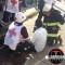 Estudiante queda atrapado en alcantarilla; Vecinos se quejan de mal estado del alcantarillado