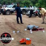 Persiguen y abaten a taxista de Minatitlán