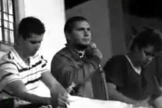 Revuelo del discurso en la Plaza Lerdo de la Ciudad de Xalapa, Ver.