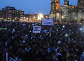 Convocan a paro cívico el 1 de diciembre durante mitin por Ayotzinapa