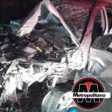Trágico accidente se registra en la carretera federal Matamoros-Puerto Juárez