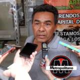 Taxistas de Tezonapa explotan contra Carlos Demuner