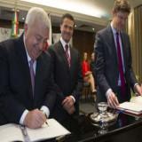 México y Reino Unido firman acuerdos de colaboración
