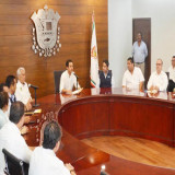 Presenta el Alcalde Miguel Ángel Yunes Márquez el Operativo Semana Santa 2015