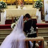 Anahí presume las fotos de su boda con un político mexicano