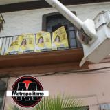 Por segunda vez quita el ayuntamiento propaganda de la casa de campaña del PRD