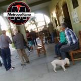 Integrantes de la Unión Cívica Naolinqueña toman palacio municipal