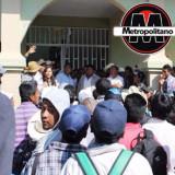 Denuncian a extesorera de Calcahualco por robo y daños