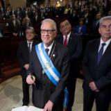 Alejandro Maldonado Aguirre asume la Presidencia de Guatemala