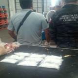 Descubren metanfetaminas en bolsas de soya
