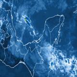 Este jueves, aumento de lluvias en zonas costeras de Veracruz