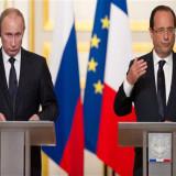 Hollande pide en Moscú formar una gran coalición contra el EI