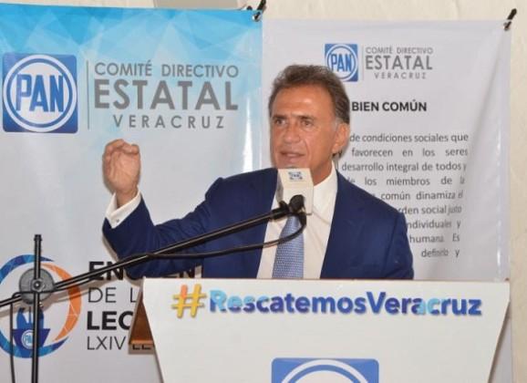 Propondré al Congreso del Estado que me permita acudir al Pleno a dialogar con las diputadas y diputados sobre los temas relevantes de Veracruz: Gobernador Yunes