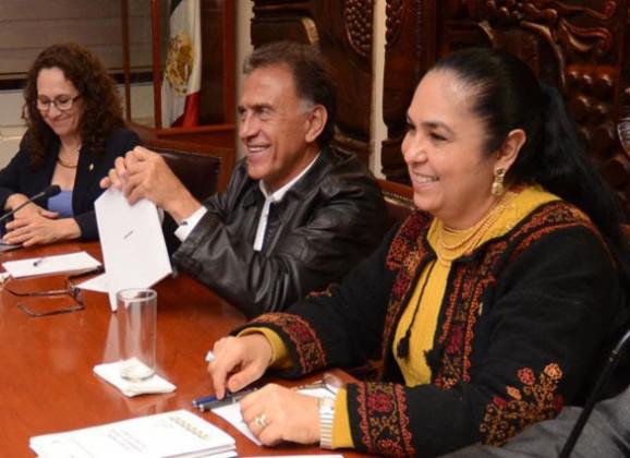 Evalúan la Rectora de la UV y el Gobernador Yunes los avances del Plan Veracruzano de Desarrollo